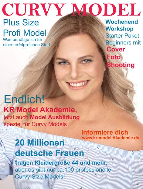 Curvy Cover Model des Monats Miriam