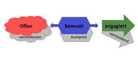 Psychotherapeut Reimer Bierhals trainiert in seiner Praxis in Bamberg die ACT Bausteine