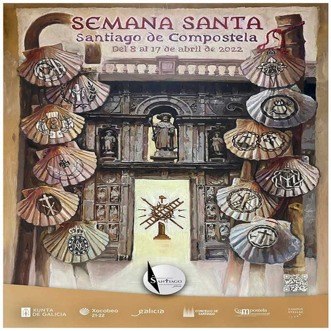 Fiestas en Santiago de Compostela Semana Santa