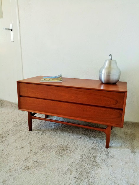 Meuble tv commode scandinave teck vintage