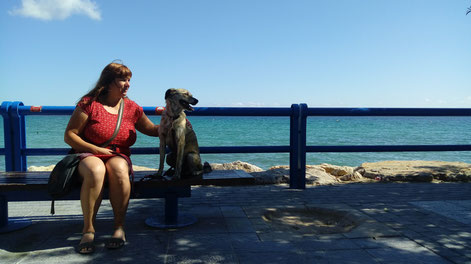 At the seaside in Alicante