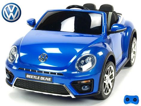 VW/VW Beetle Dune 2019/Kinderauto/Kinder Elektroauto/Kinderautos/Kinder Elektroautos/Kinder Auto/blau lackiert/lizensiert/
