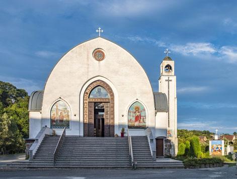 In Deutschland gibt es heute eine große Vielfalt christlicher Kirchen, darunter viele Einwandererkirchen wie hier die Koptische Kirche in Waldsolms.  Foto: iStock.com/travelview