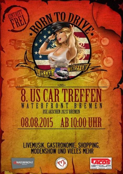 Bild: US Car Treffen Waterfront Bremen 2015