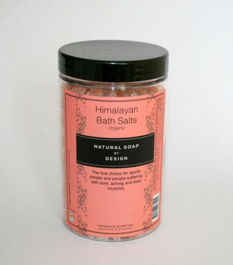 Himalayan Pink Bath Salts