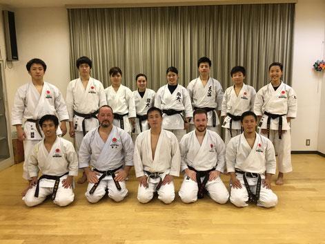 Im Dojo von Tokuno Sensei, Osaka 2016