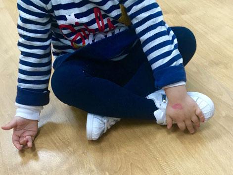niño cansado dolor de pies podologia infantil pedriatria oliva