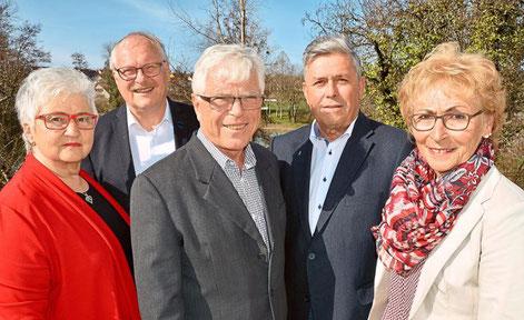 Der Vorstand des neuen Vereins für Natur- und Umweltschutz Zollernalb (NUZ): Renate Ritter (von links), Siegfried Rall, Norbert Majer, Bernd Effinger und Brigitte Jetter-Faiss. Foto: Verein Foto: Schwarzwälder Bote