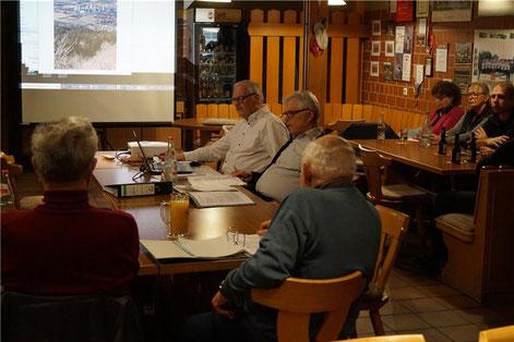 Der erweiterte Vorstand der NUZ beschäftigte sich bei der öffentlichen Sitzung unter anderem mit der Seilbahn auf den Plettenberg