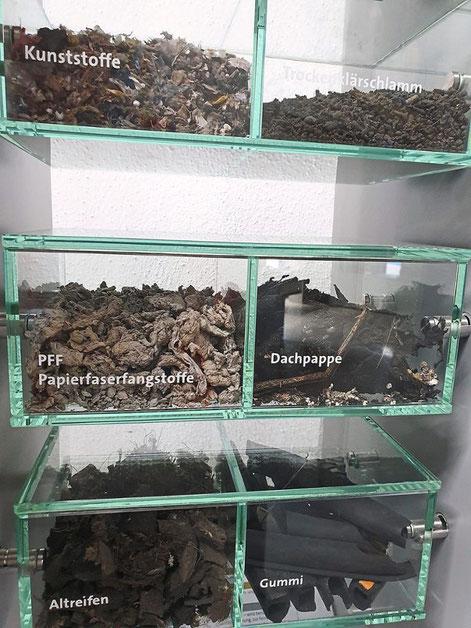 Diese Ersatzbrennstoffe werden im Holcim-Zementwerk vermehrt eingesetzt. Foto: Holcim Foto: Schwarzwälder Bote