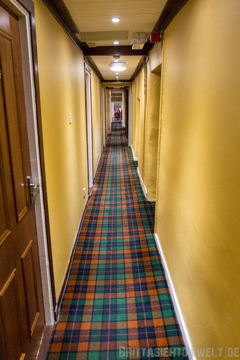 Schottland,Drymen,The winnock,Hotel,Loch,Lomond,Flur