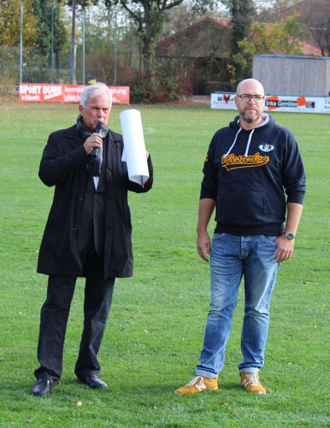 Dieter Ohls, Vizepräsident des NFV, war begeistert von der LVM-Arena