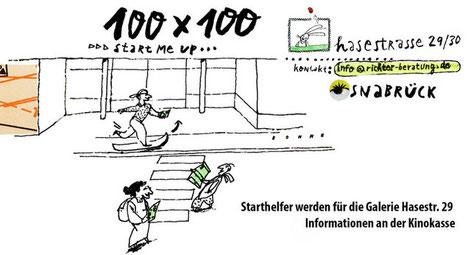 Zeichung von Wilfried Bohne