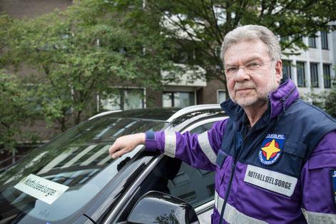 Notfallseelsorger Klaus Andrees  I Foto: Ev. Kirchenkreis Duisburg