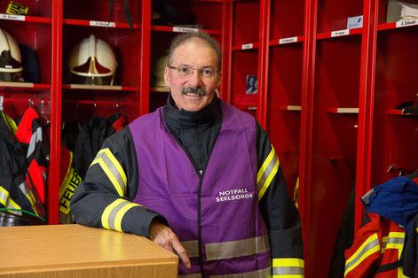 Notfallseelsorger Ulrich Slatosch  I  Foto:  Achim Pohl, Bistum Essen
