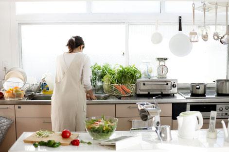 Aqua Diana アクアディアナとの生活 軟水でおいしいご飯をお料理する どんなタイプの浄水器がいいか 設置スペース確認 Aqua Diana アクアディアナ レンタル