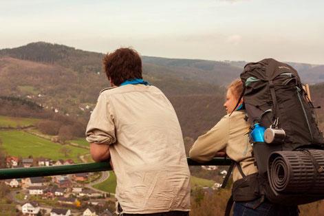 Aussicht Burg Nideggen Pfadfinder Aachen