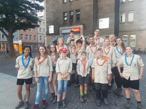 Pfadfinder Aachen Sommerfahrt