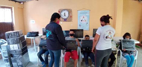 donar computadores a fundaciones