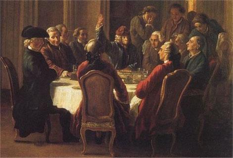 Philosophes des Lumières autour de Voltaire et Diderot