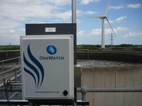 Système automatisé de mesure et de modélisation 3D des odeurs en temps réels de la société Odotech