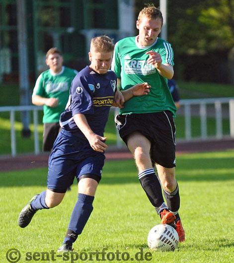 SC BW Bilshausen (blau) vs SG Barbis/Südring