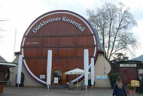 Das Riesenweinfass in Bad Dürkheim