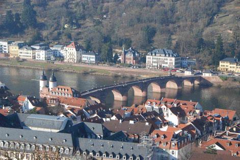 Fußgängerbrücke Heidelberg
