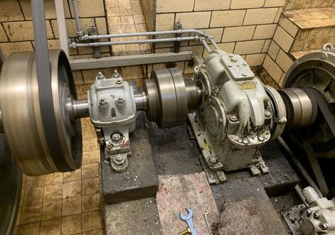 Generator der den Strom produziert
