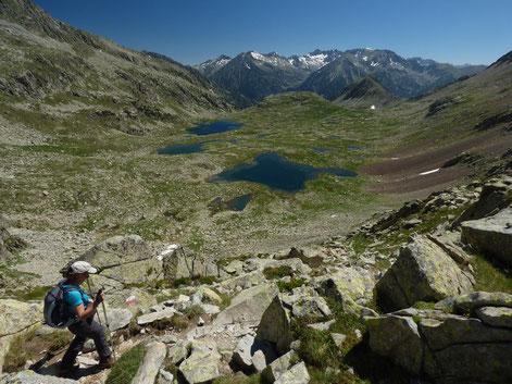 Randonnée des étoiles dans les Pyrénées