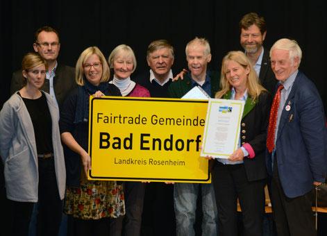 Bad Endorft ist Fairtrade-Gemeinde!