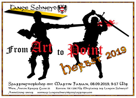 Wien, From Art to Point - für das Lange Schwert @ WMS/RG/ORG Schule