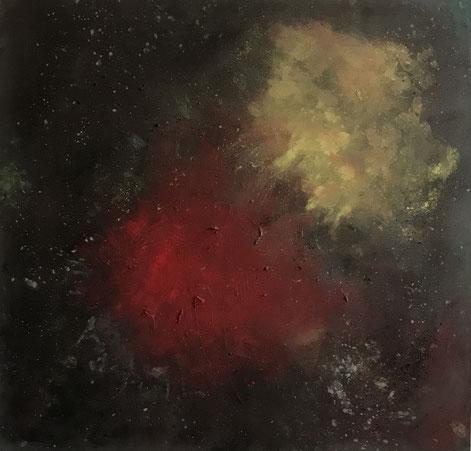 Maria Cornelia: »geschlossene Augen 2«, Selbstportrait