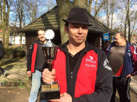 Gesamtsieger Sascha Hackfurt