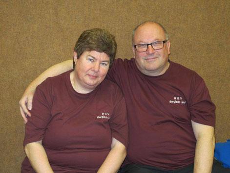 Karin und Frank Exner vom BGV Bergisch Land