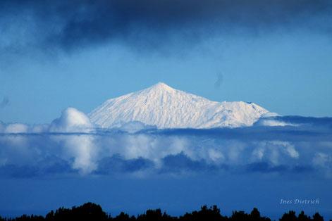 El Teide visto desde Barlovento