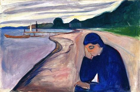 """E. Munch, """"Melanconia"""" (1893)"""