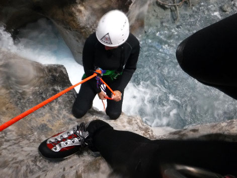 test et avis chaussures canyoning