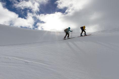 randonnée ski rando briançon serre chevalier hautes alpes