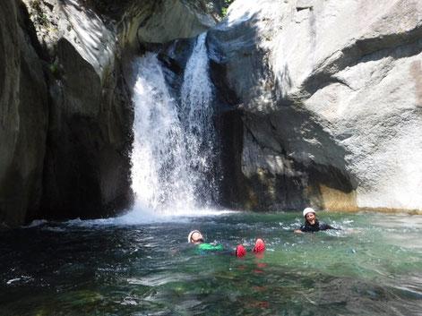 canyon à Briançon, Serre chevalier