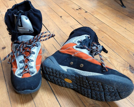 test chaussure canyoning