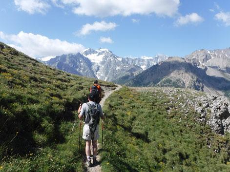 randonnée à briançon montagne hautes alpes