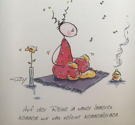 Wirkung von Meditation