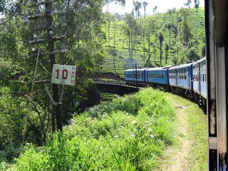 Indrukwekkende treinreis van Ella naar Nuwara Eliya