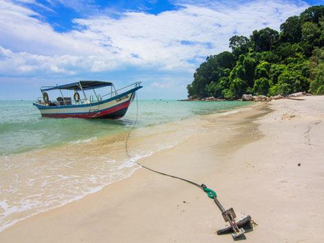 Monkey Beach in het Penang National Park in West-Maleisië