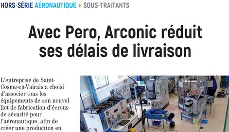 Arconic réduit ses délais de livraison utilise installation de nettoyage R0