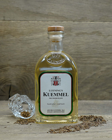 Kümmel, Ritterguts Manufaktur, Sulingen, Schnaps, Destillat, Lünings
