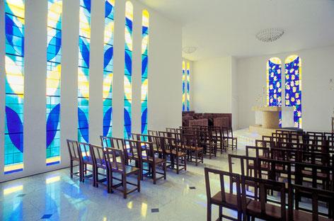 マティスデザインの礼拝堂