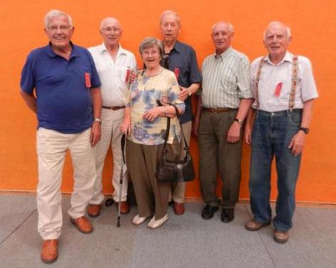 Leo Brunner, Leo Fink, Brunhilde Spandl, Stefan Vogler, Josef Fink, Vinzenz Häubl