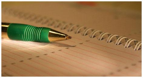 Kugelschreiber mit Kalender